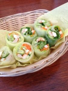 Sykamore fresh rolls